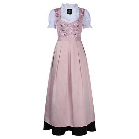 Traditional German Clothing (Women's German Traditional Oktoberfest Costumes Classic Dress Three Pieces)