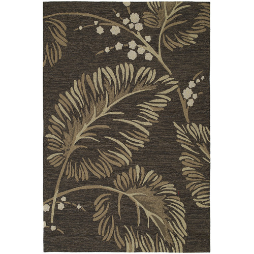 Kaleen Home and Porch Floral Indoor/Outdoor Area Rug I