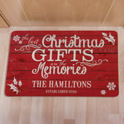 Personalized Best Christmas Gifts Doormat