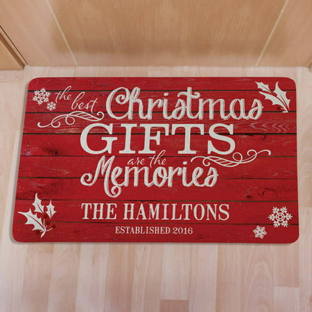 Personalized Best Christmas Gifts Doormat](Personalized Bulk Gifts)