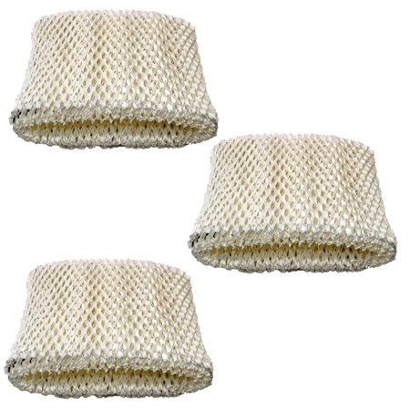 HQRP 3-pack Filter for Walgreens 890-WGN 890WGN Cool Mist Humidifier,  W889-WGN Replacement + HQRP Coaster