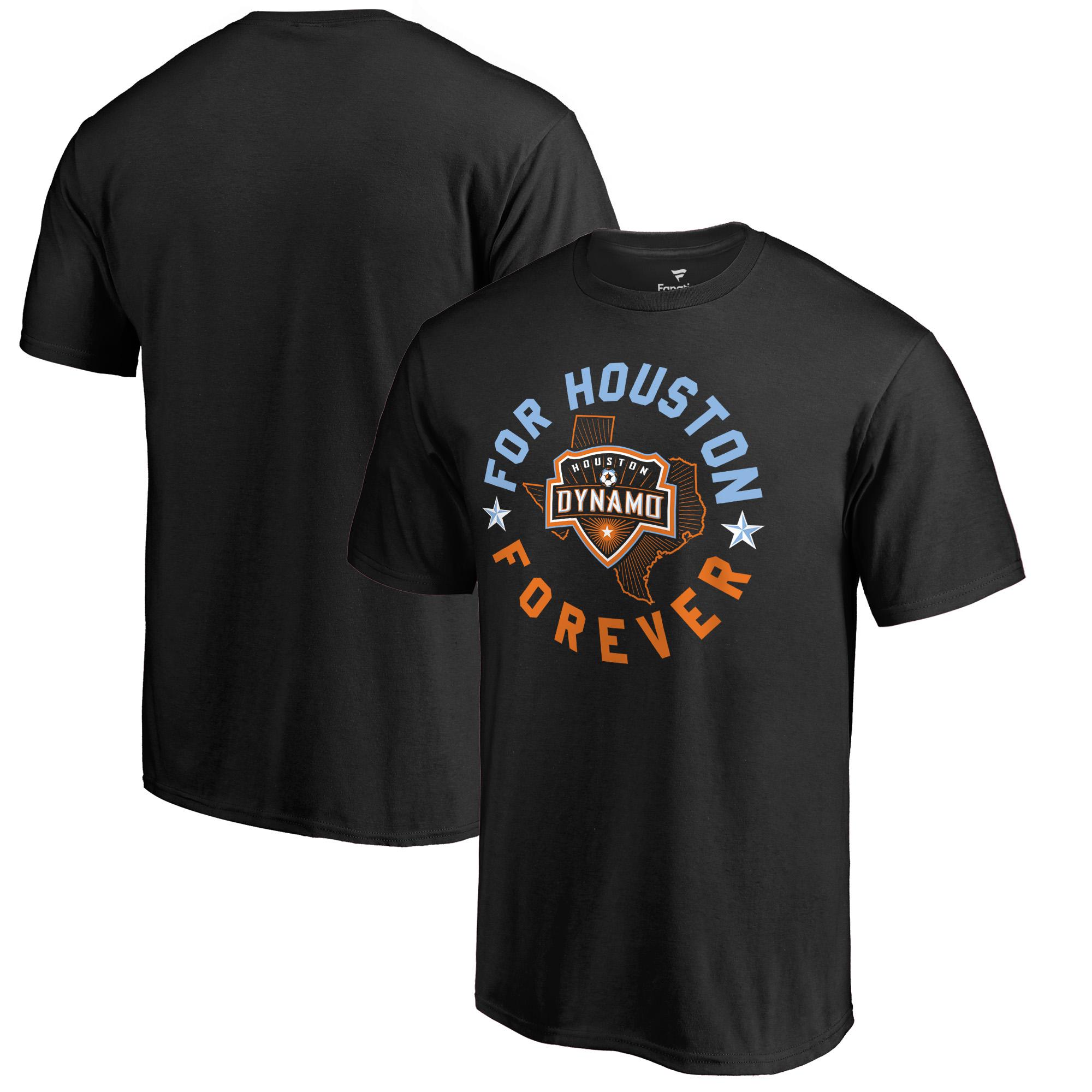 Houston Dynamo Fanatics Branded Forever Arch T-Shirt - Black
