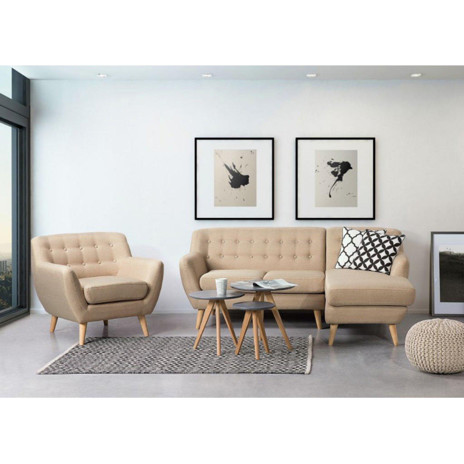 Velago Motala Tufted Corner Sofa