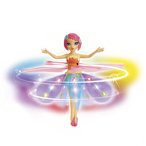 Spin Master Deluxe Light Up Flutterbye Fairy - Rainbow