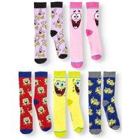 Men's SpongeBob SquarePants 5-Pack Socks