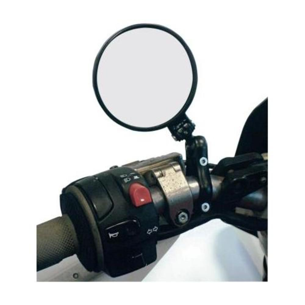 CRG LS-220 3in. Round Folding Mirror - L3.2