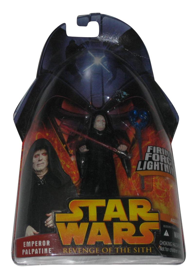 Star Wars Revenge Of The Sith Emperor Palpatine Force Lightning Action Figure 12 Walmart Com Walmart Com