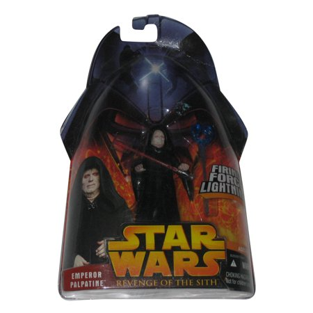 Star Wars Revenge of The Sith Emperor Palpatine Force Lightning Action Figure 12 (Emperor Palpatine Commander)