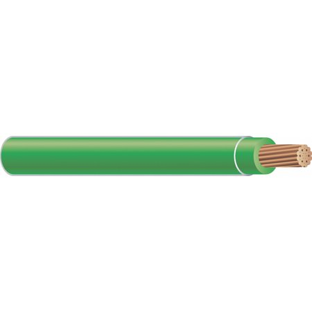 50 ft. Stranded Building Wire with THHN Wire Type and 12 AWG Wire Size, Green