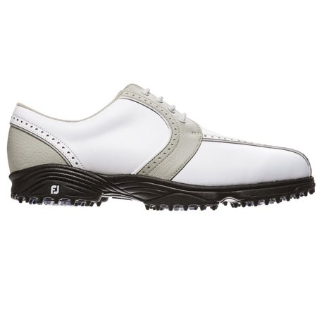 FootJoy Ladies GreenJoys Golf Shoes (48357) White-Cloud, 9 (Best Price Footjoy Dryjoy Golf Shoes)