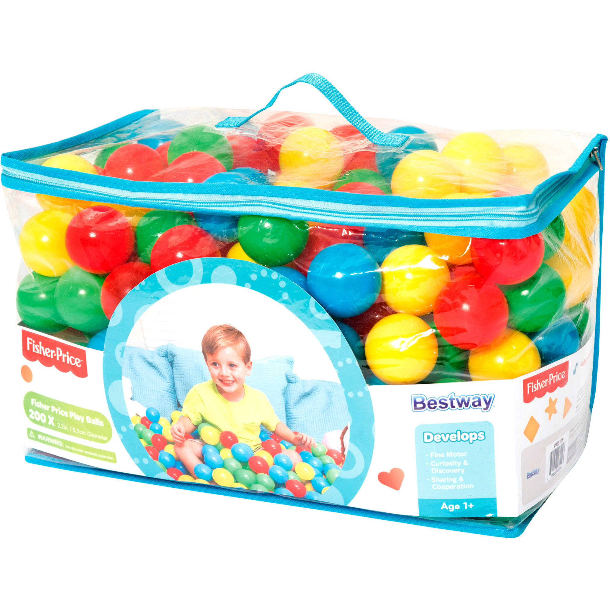 Bestway Fisher Price 200 Play Balls by Bestway