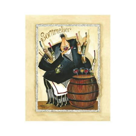 Days of Wine I Print Wall Art By Jennifer - Jennifer Garant Wine