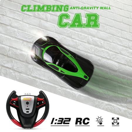 886-10 1/32 Infrared Control Climbing Car Anti-Gravity Wall Climbing RC Car Toy ()
