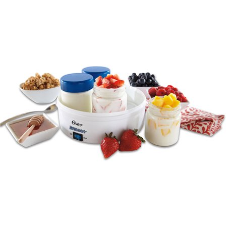 Oster Compact Manual Greek Yogurt Maker  White