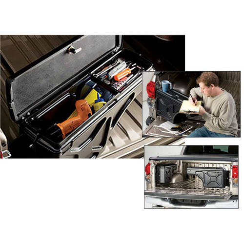 Undercover SC201P 97-14 F150 (Except 01-03 Supercrew) Passenger Side Swing Case Storage Box