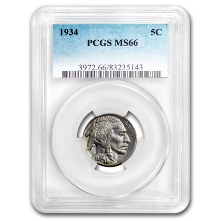 1934 Buffalo (1934 Buffalo Nickel MS-66 PCGS )