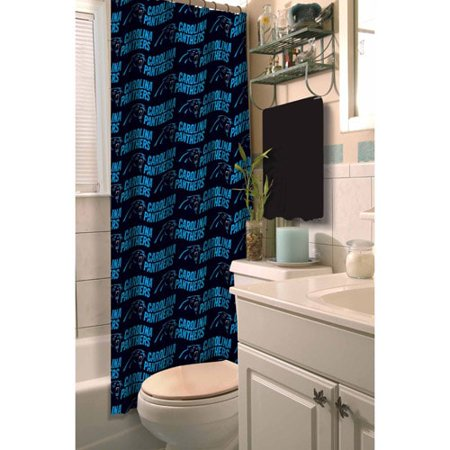 NFL Carolina Panthers Shower Curtain, 1 Each