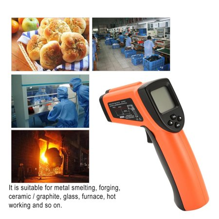 DT8011H Digital Handheld LCD Infrared Thermometer