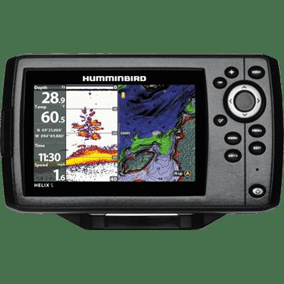 Humminbird Helix 5 G2 Chirp GPS by Johnson Outdoors