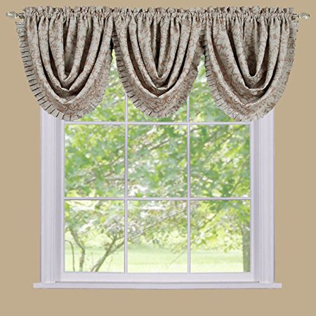 Park Avenue Collection Sutton Waterfall Valance - (Sutton Collection)