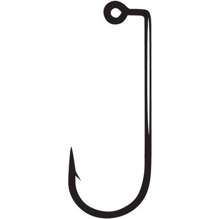 Gamakatsu Jig Hooks 90 Degree 2x Strong, Round (Silicone Silicon 90 Degree Bend)