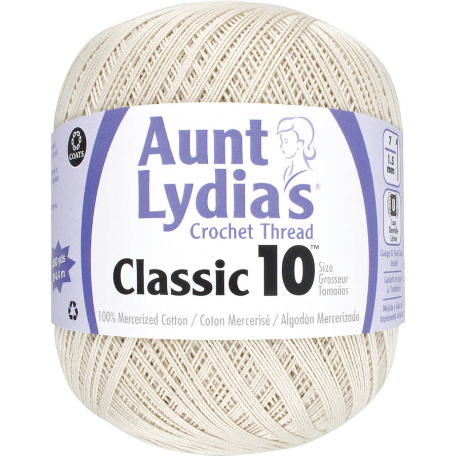 Aunt Lydia's Crochet Cotton