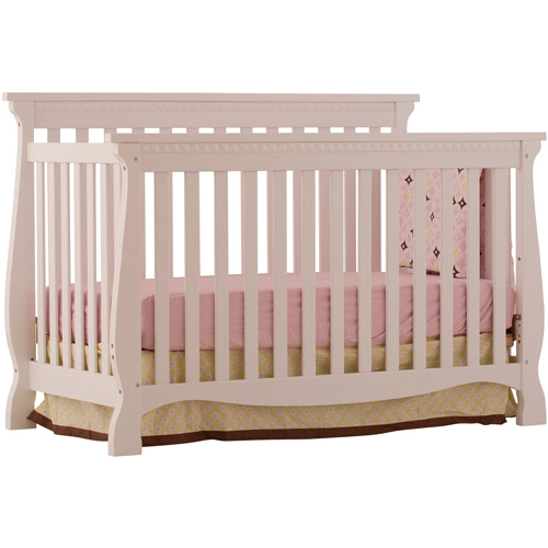 Storkcraft - Venetian Fixed-Side Convertible Crib, White