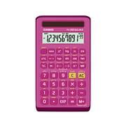Casio FX-260SOLARII-PK Scientific Calculator, 10-Digit Display, Pink