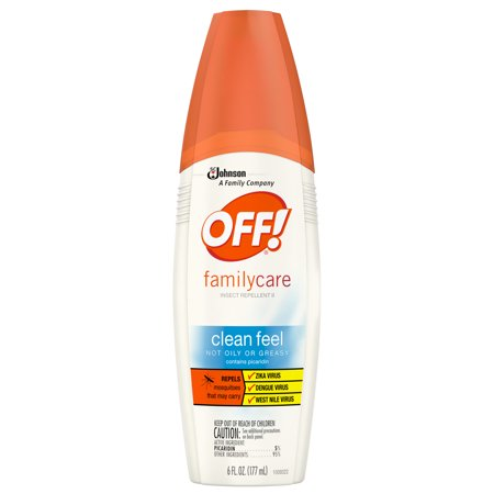 Off  Familycare Insect Repellent Ii Clean Feel  6 Fluid Ounces