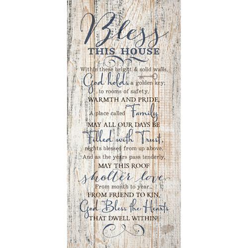 Dexsa ''Bless This House '' Textual Art Plaque by DEXSA COMPANY
