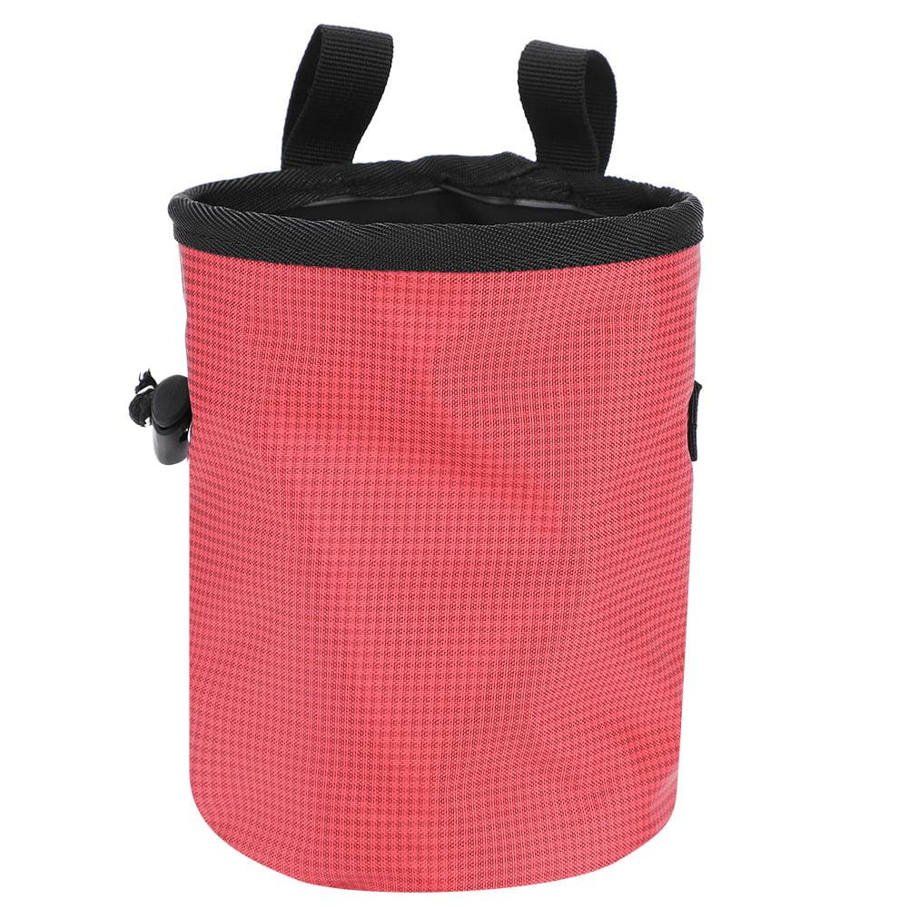 HERCHR Magnesium Powder Bag for Outdoor Rock Climbing Gymnastics Pole Dance Fitness Pole Dance Outdoor Camping Weight Lifting Magnesium Powder Bag Waterproof Anti-Slip No Leak Bag