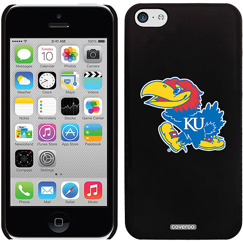 Coveroo University of Kansas Mascot Design Apple iPhone 5c Thinshield Snap-On Case
