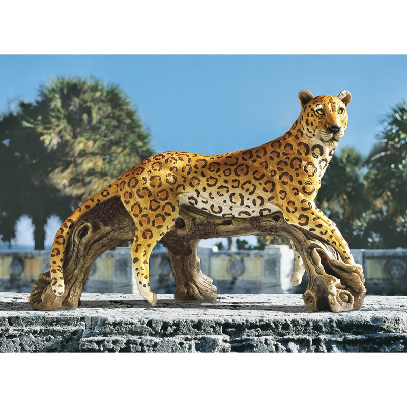 Design Toscano Leopard's Kingdom Garden Statue by Garden Statues
