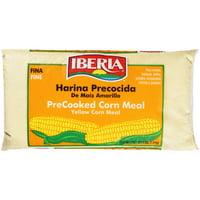 Iberia PreCooked Yellow Corn Meal, 4 lbs
