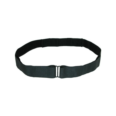 - Size one size Shirt Lock Undergarment Belt, Black