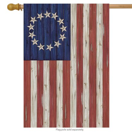 betsy ross flag patriotic house flag rustic 4th of july 28