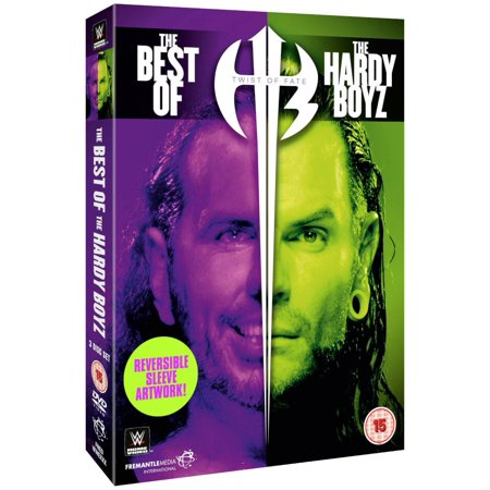 WWE Twist Of Fate: The Best Of The Hardy Boyz (2018 DVD) Slipcover ,