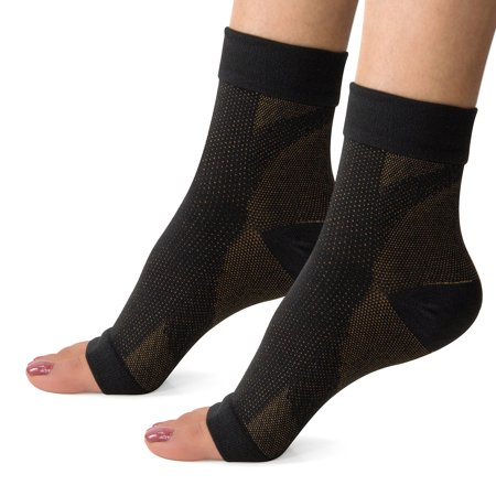 303e26a5607 Plantar Fasciitis Socks with Arch Support, Foot Care Compression Sleeve,  Better than Night Splint
