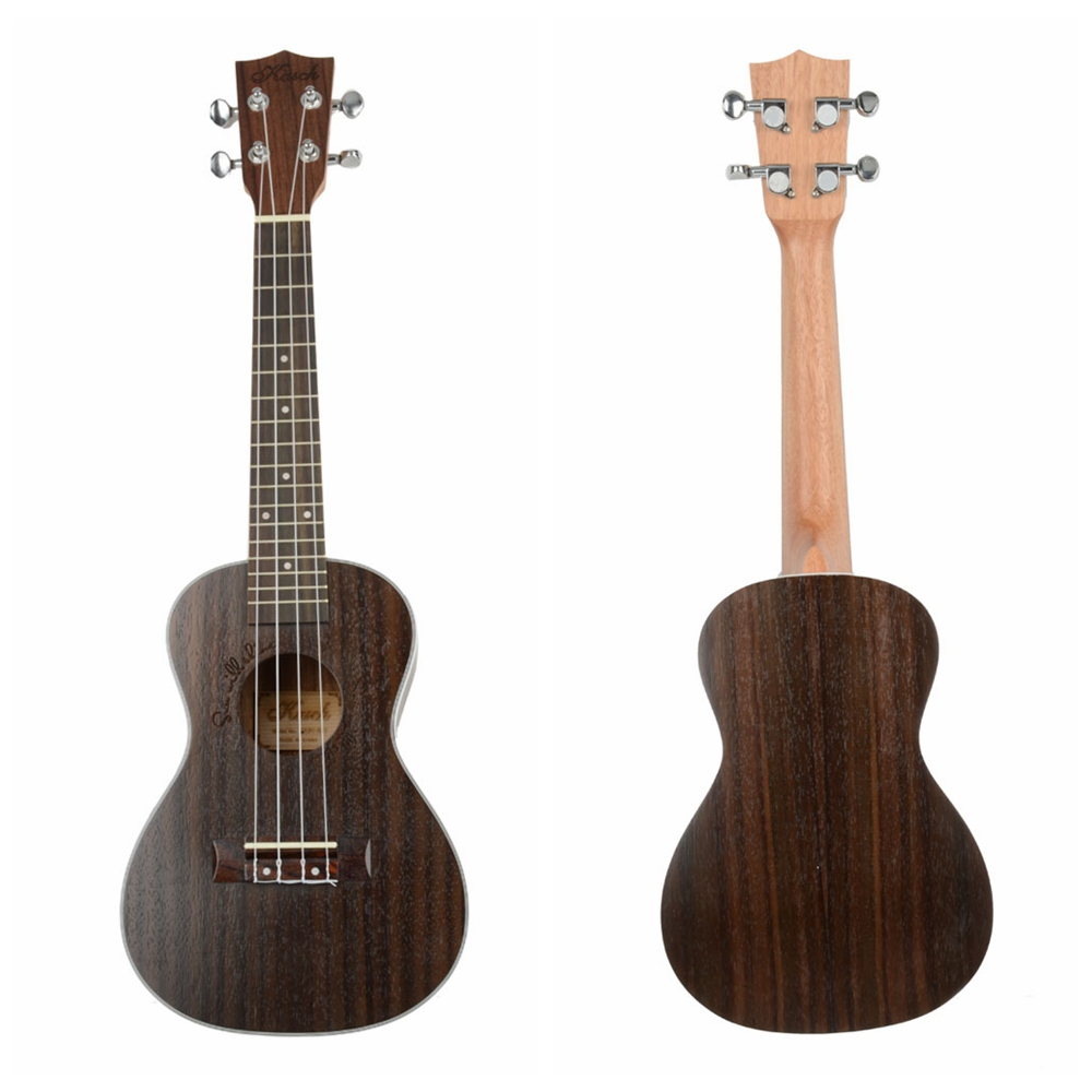 "zimtown 23"" MUH-507 Ukulele Uke 4 String Musical Instrument Hawaiian Rose Wood Guitar by"