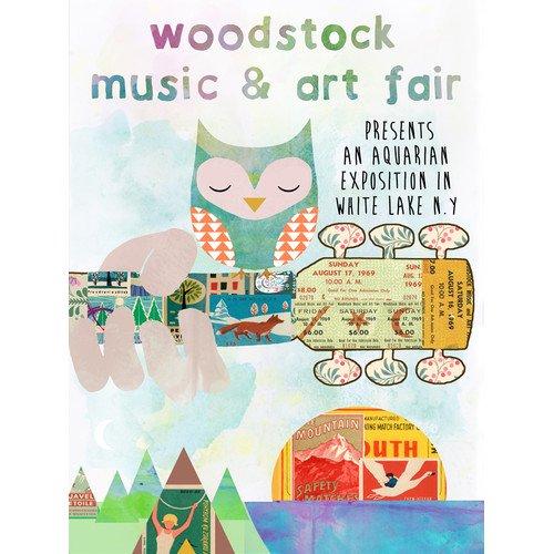 Buy Art For Less Woodstock Music and Art Fair Graphic Art on