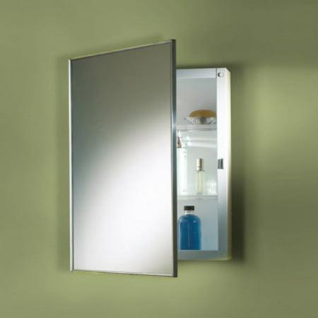 Styleline Basic Medicine Cabinet (Jensen Medicine Cabinet Styleline Stainless Steel 20W x 30H in. Medicine Cabinet)