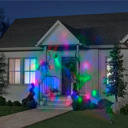 Red, Green, Blue Fire and Ice Projection Light for $<!---->