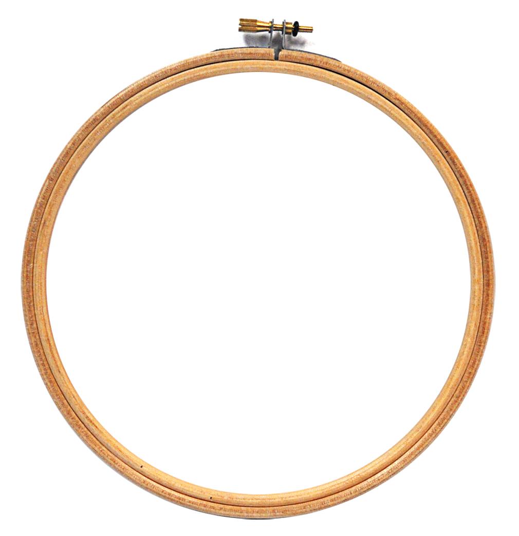 Edmunds Wood Embroidery Hoop 7in