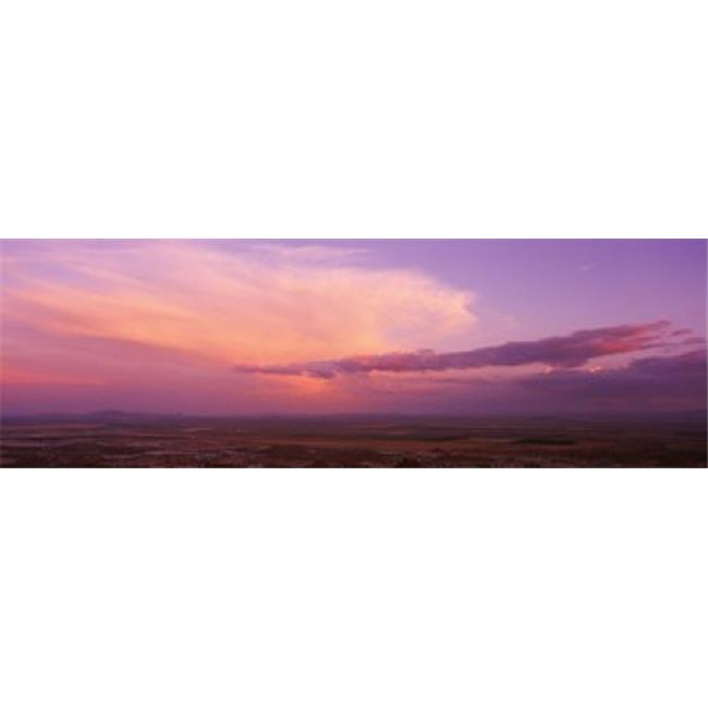 Panoramic Images PPI33719L Clouds over a landscape at sunset  South Mountain Park  Phoenix  Arizona  USA Poster Print by Panoramic Images - 36 x 12 - image 1 of 1