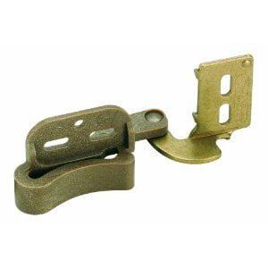 Amerock BP2606-BB Marathon Knife Hinge # 6 Self Closing Burnished Brass - 2-Pair Pack