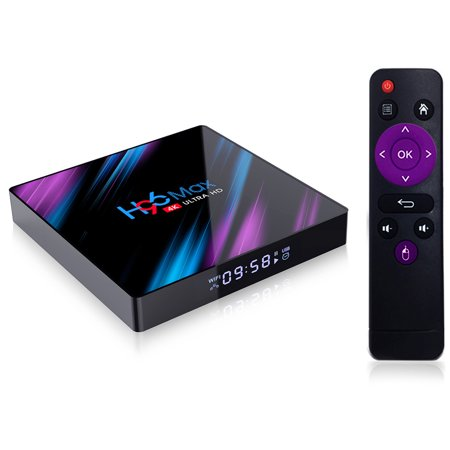 Android TV Box - H96 Max-3318 2GB+16GB TV Box Android 9.0 USB3.0 Support HD Netflix 4K (Best Youtube Player App)