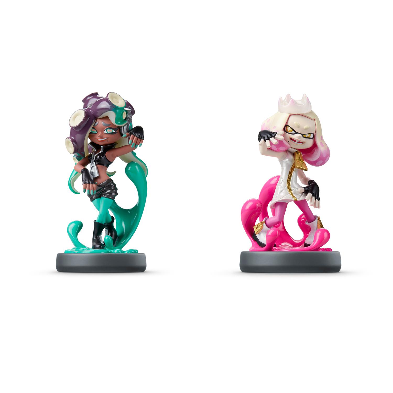 Pearl & Marina Off the Hook 2-Pack Splatoon 2 amiibo