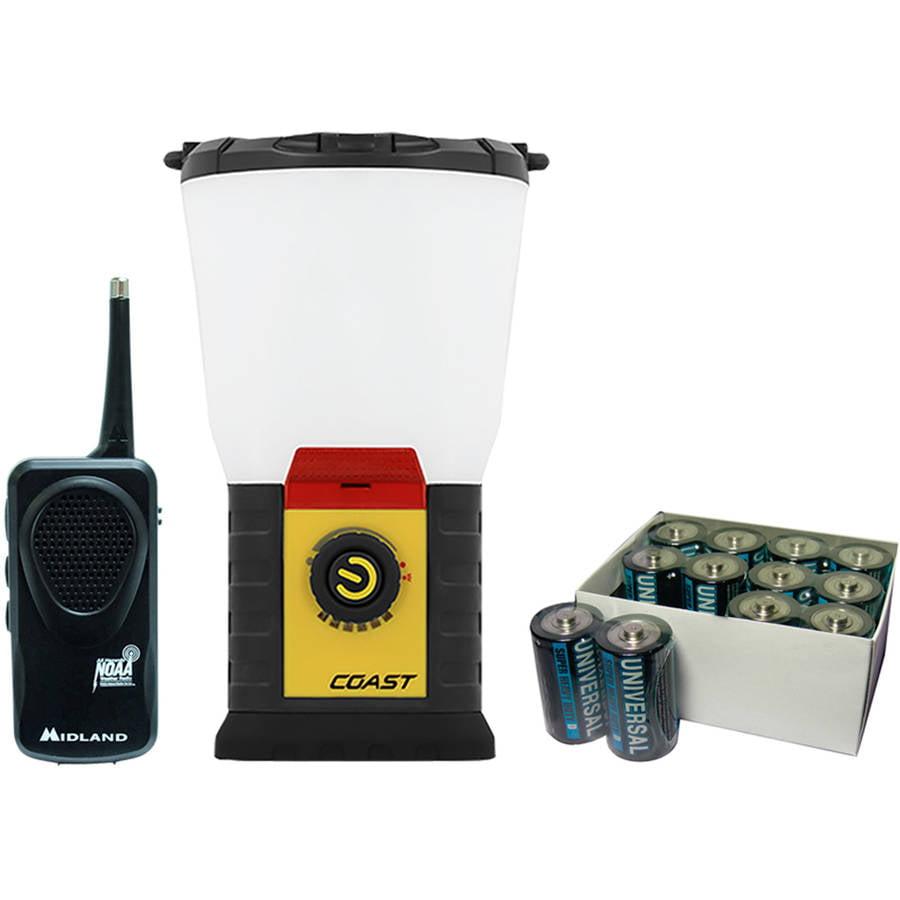 Coast 375-Lumen EAL 20 Emergency Area Lantern, Midland Radio and UPG D, 12-Pack by Coast
