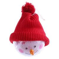 AkoaDa Toy Story Decorations Supplies Christmas Decor Children Toy Plastic Pendant Gift Snowman Ball Creative Education Toy