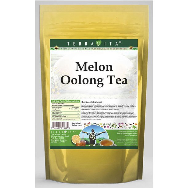 Melon Oolong Tea (25 Tea Bags, Zin: 533238) - 3-Pack